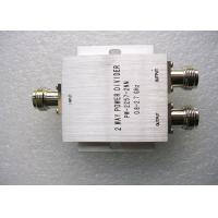 China 350 - 500MHz UHF Power Splitter , Silver Color 2 Way Power Divider on sale