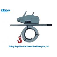 Buy cheap Lever Pulley Block Wire Rope Pulling Hoist Wire Rope Winch Rated Load Lifting Capacity 5.4 Ton product
