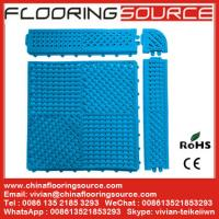 Buy cheap Locker Room Mat PVC Tile Mat from Wholesalers