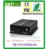 China Economic 4ch HDD 3G MDVR with GPS 3G WIFI Similar to Dahua DVR on sale