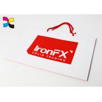 Buy cheap CMYK Color Offset Printing Custom Paper Bags , Promotional Paper Carrier Bags product