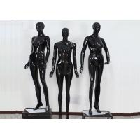 Buy cheap Woman Full Boday Matt Black Clothing Display Mannequin With Different Poses product