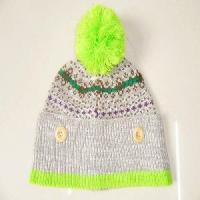Buy cheap 100% Acrylic Knitting Pattern Winter Hats and Caps product