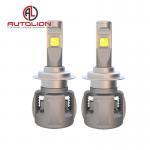 Buy cheap X70 LED Headlight Xhp70 chip H4 H7 9005 9006 60W 6800lm car led headlight product