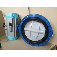 Buy cheap Stainless Steel Pneumatic Butterfly Valve Flange Type For Pneumatic Actuator product