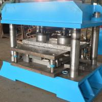 Buy cheap Fish Tail Press Highway Guardrail Roll Forming Machine With Longlife product
