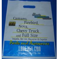 Buy cheap White HDPE Patch Handle Bags Cotton Rope with Corrosion Resistant product
