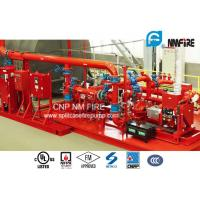 Quality UL / FM Listed Skid Mounted Fire Pump Package 289 Feet For Transportation Tunnels for sale