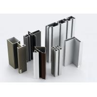 Quality Modular T Slotted Aluminum Extrusion Profiles / Aluminum Door And Window Frames for sale