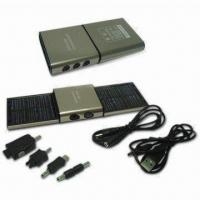 Buy cheap Solar Mobile Phone Charger, Measuring 120 x 62 x 17mm product