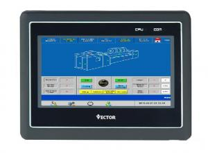Buy cheap EtherNet 7.4inch HMI Control Panels RS485 HMI LCD Display product
