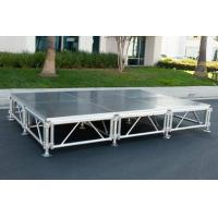 Buy cheap Night Bar Movable Stage Platform Aluminum Alloy 6061-T6 Easy Set Up product
