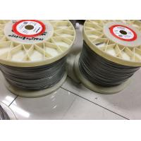 Buy cheap 0.05mm - 12mm Nichrome Alloy Heating / Resistance Alloy Nicr 80/20 Wire 19 Strands from Wholesalers