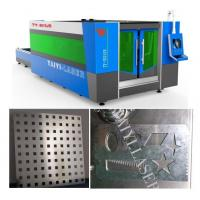 Buy cheap Galvanized Sheet Laser Cutting Machine-Unique Fumes Exhausting system to protect worker product