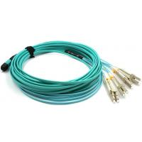 China Telecom Standard Ribbon Optical Fiber Patch Cords OM3 OM4 Simplex Duplex Ribbon Optical Fiber Patch Cables on sale