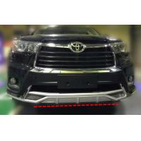Buy cheap TOYOTA HIGHLANDER 2014 2015 KLUGER Front Bumper Guard and rear Bumper Guard product