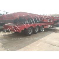 Buy cheap Heavy duty 3 axles 70tons capacity extendable low bed semi trailer ,Warranty Coverage 12 month lowbedtraier product