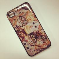 Buy cheap IC19 White European Style Building With Resin Bird Hard Case Cover product