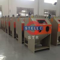Buy cheap Manual Small Sandblasting Cabinet to Remove Oxide of Mold Casting Parts Metal product