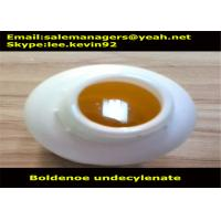 Buy cheap Light Yellow Liquid Boldenone Undecylenate Equipoise CAS13103-34-9 GMP Certified product