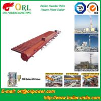 Buy cheap Longitudinal Oil Fired Boiler Header Manifold Once Through For Power Plant product