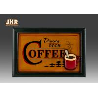 Buy cheap Coffee House Wall Decor Antique Wooden Wall Signs Decorative Wall Plaques Home Decor product