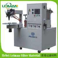 Buy cheap PLAB-2 Two Compounds Filter End Cap Gluing Machine product