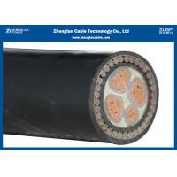 Buy cheap 0.6/1kV 4C Oxygen free Copper Conductor, XLPE Insulated, PVC Sheathed Power Cable(N2XY/NA2XY) (CU/XLPE/LSZH/DSTA) product
