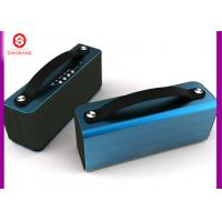 Buy cheap FM Rradio Bluetooth Speaker , Heavy Metal + Leather Handle Wifi Bluetooth Speaker product