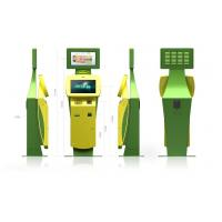 22 Inch LCD Monitor Innovative and Smart Bill Payment Kiosk for Ticketing / Card Printing