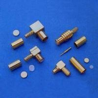 Buy cheap MCX and MMCX RF Connectors with 50-Ohm Impedance and 6GHz Frequency product