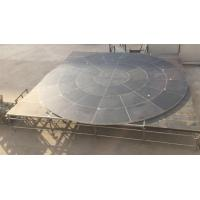 Buy cheap Anomaly And Durable Fitting Portable Stage Platform For Circle Stage product