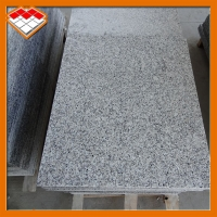 """Buy cheap 24"""" × 24"""" White Granite Stone Slabs Tile For Square Polished product"""