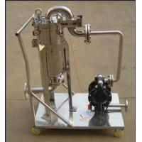 Buy cheap Ss304 Ss316 Stainless Fermentation Tank Movable Bag Filter Housing from Wholesalers