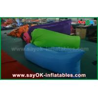 China Nylon Fabric Inflatable Sleeping Bag Lazy Air Couch for Outdoor on sale