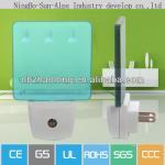 Buy cheap acrylic saving energy smart sensor switch led night sensor lamp product