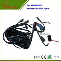 Buy cheap Fireproof and Waterproof Wiring Harness with DT connectors for 4 LED Lights Simultaneously product