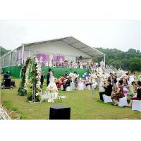 Buy cheap 700 People Large Aluminium Tent / Large White Marquee Tents For Wedding from Wholesalers