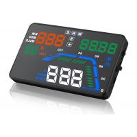 China Driving Direction GPS Q7 Heads Up Car Display 5.5 Inch Q7 Speed Local Time Compass HUD on sale