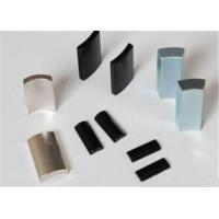 China Custom 150℃ Sintered Neodymium Arc Magnets N35SH With Nickel Epoxy Zinc Coated on sale
