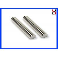 China Permanent Rare Earth Neodymium 12000GS 25*100MM Magnetic Bar / Rod Coating SS304 / 316 on sale