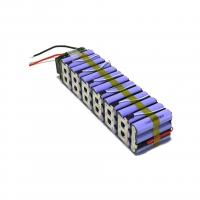 Buy cheap Custom 10Ah 48V Rechargeable Lithium Battery Packs For Electric Scooter product