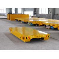 Buy cheap Towed transfer car running on rails with cast steel wheel powered from forklift product
