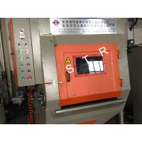 Buy cheap PLCTracked Type Sandblasting Machine Small Workpieces Zipper Heads Screws Support product