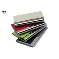 Buy cheap Pocket Business Card Holder Organizer , Slim Leather Wallet Credit Card Holder With Name product