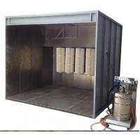 Quality Walk-in Industrial Paint Powder Coating Spray Booth In Household / Furniture / Car for sale