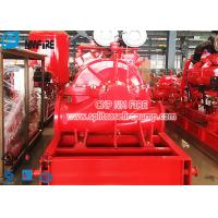 Buy cheap UL Listed 500 Gpm Fire Pump Set , Single Stage Double Suction Centrifugal Pump product