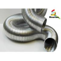 Buy cheap Air Conditioning Semi Rigid Aluminum Duct , Fireproof Round 8 Flexible Aluminum Duct from Wholesalers