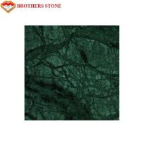 Buy cheap Indian Emerald Green Marble Stone Tile , Green Granite Slabs For Hotel product