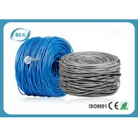 Buy cheap 500/1000FT Cat6 Utp Network Cable Pure Bare Copper CM CMX Unshielded UTP Cabling product